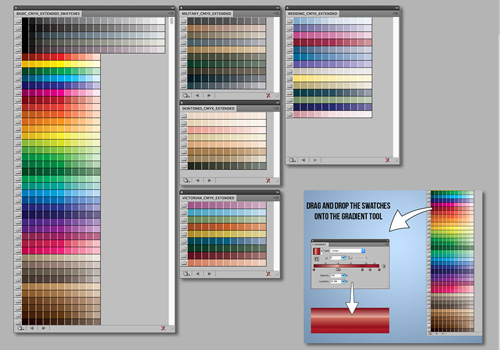 Adobe illustrator Swatches